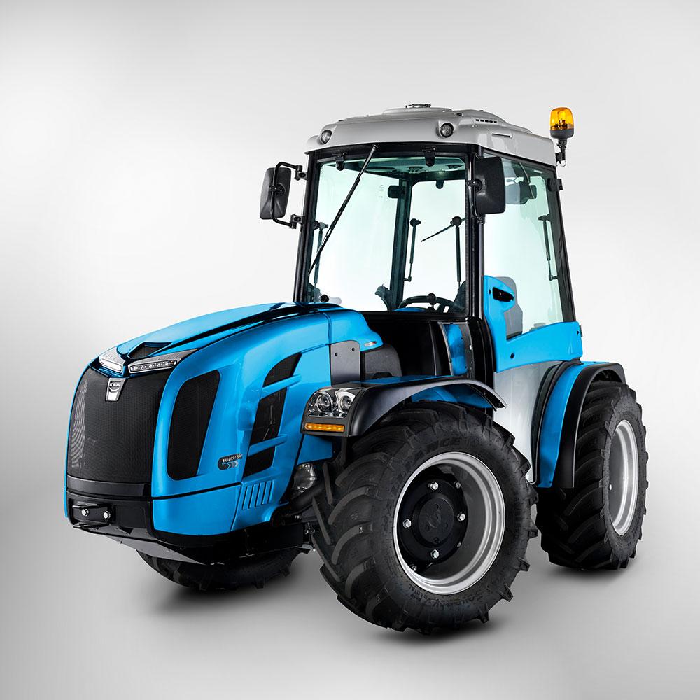 Tractor BCS Volcan L80 dualsteer, reversibil, 75.3 CP